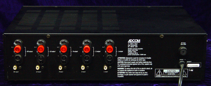 Adcom GFA-7300 power amplifiers