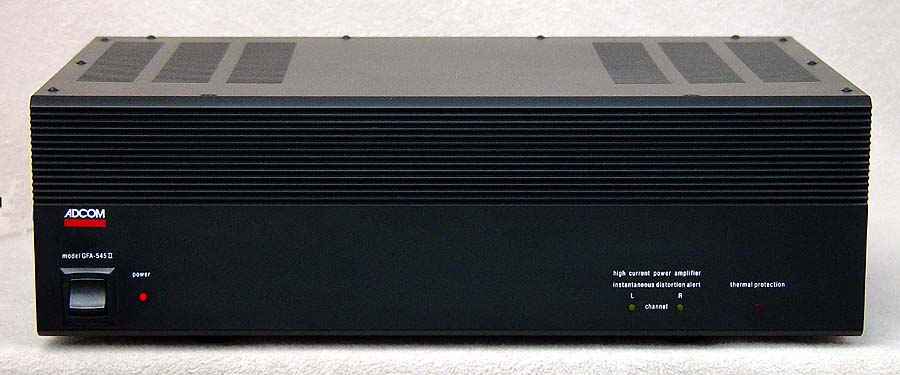 Adcom GFA-545 power amplifiers