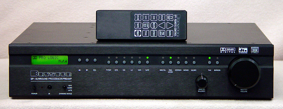 BRYSTON SP1 Surround Processors