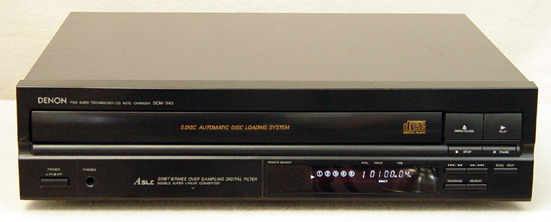 Denon DCM-340 disc players