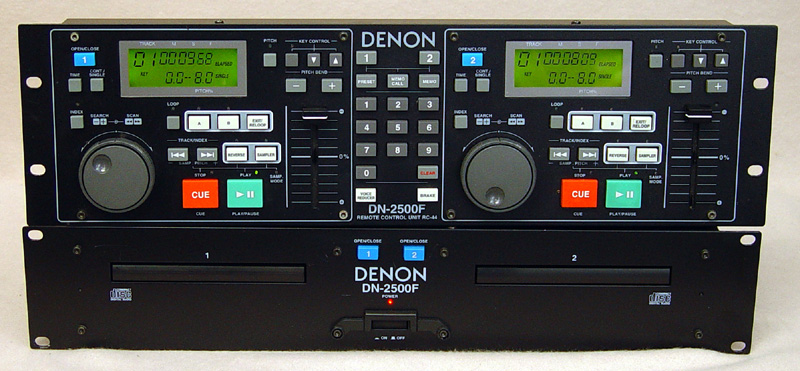 Denon DN-2500F disc players
