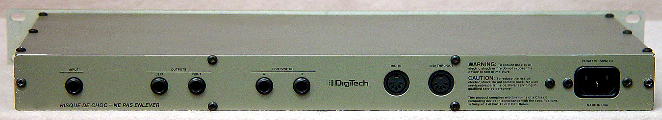 DIGITECH GSP-5 Musical Instrument Amps