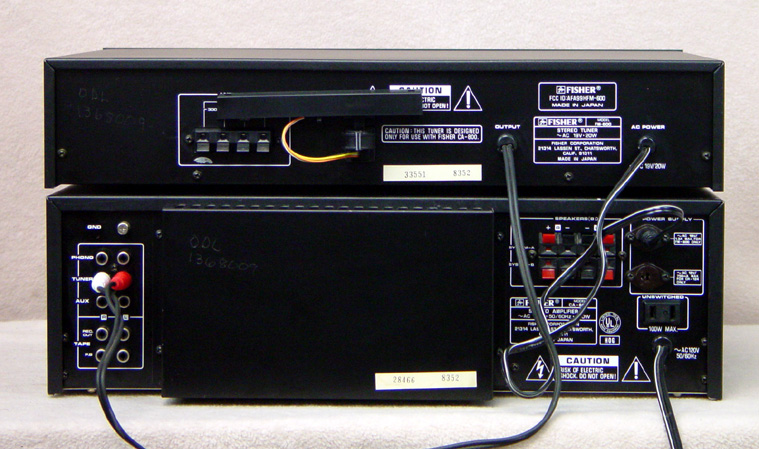 FISHER CA-800 Integrated Amps