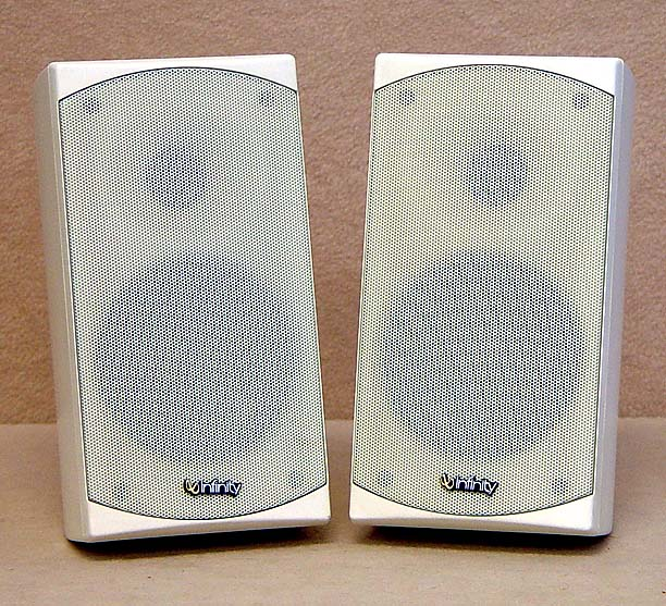 INFINITY White Satelite Speakers