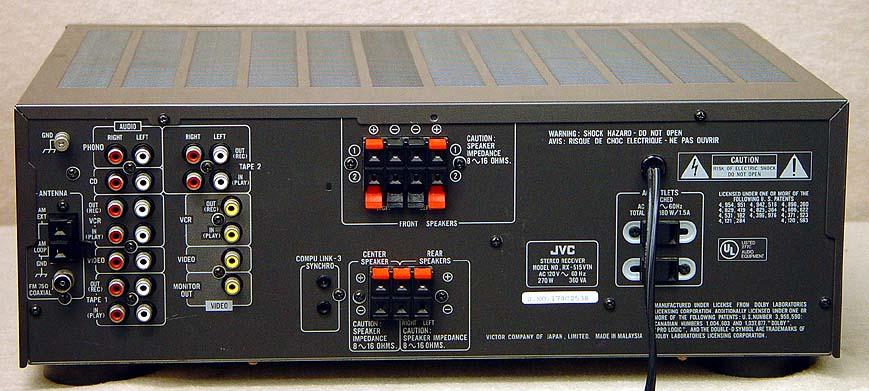 Dolby Surround Sound Receivers