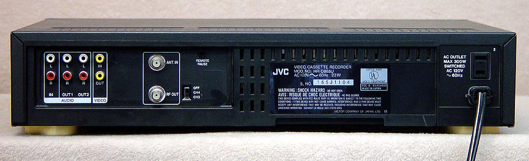 Vhs vcrs vhs players vhs recorders vhs machines jvc hr d865u vcr vhs publicscrutiny Images