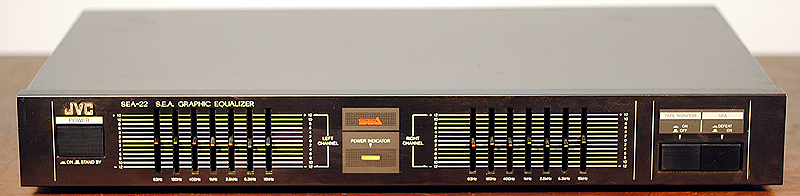 JVC SEA-228 equalizers