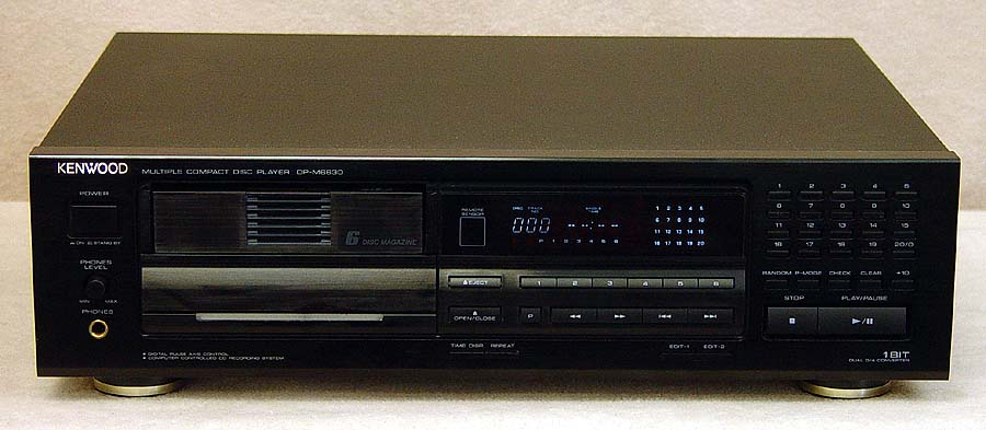 Kenwood DP-M6630 disc players
