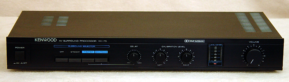 KENWOOD SC-75 Surround Processors