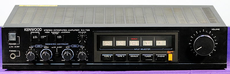 Kenwood KA-72B integrated amps