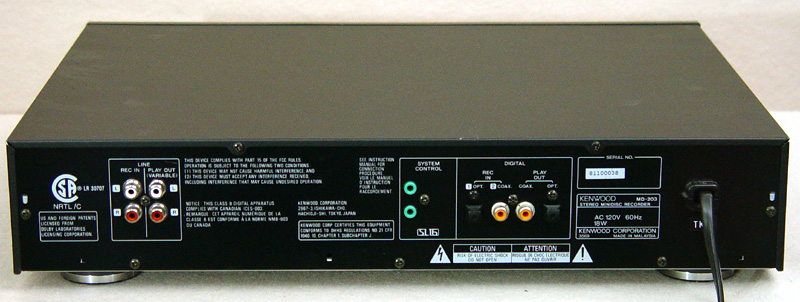 Kenwood MD-203 disc players