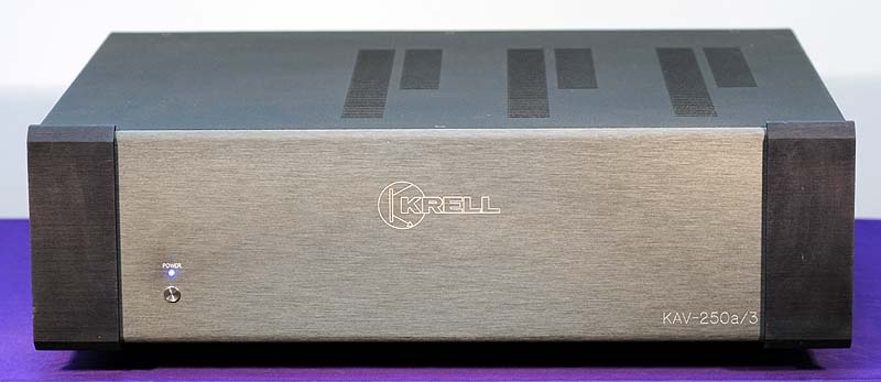 Krell KAV-250a/3 power amplifiers
