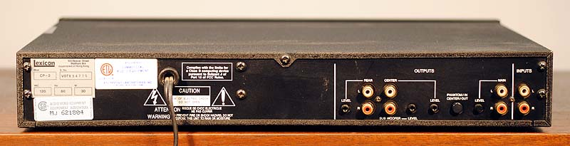 LEXICON CP-2 Surround Processors