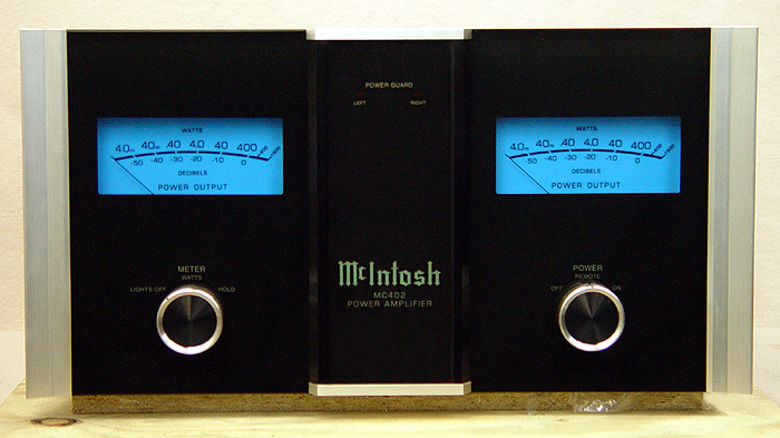 McIntosh MC402 power amplifiers