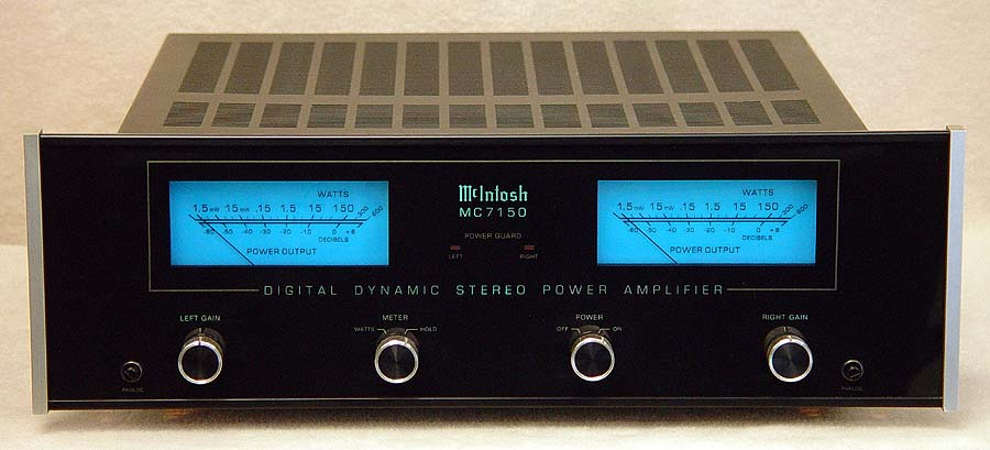 McIntosh MC7150 power amplifiers