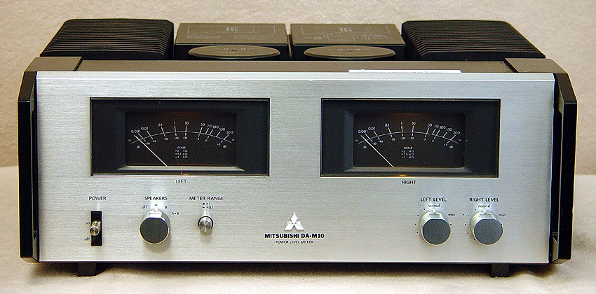 Mitsubishi DA-A15DC + DA-M10 power amplifiers