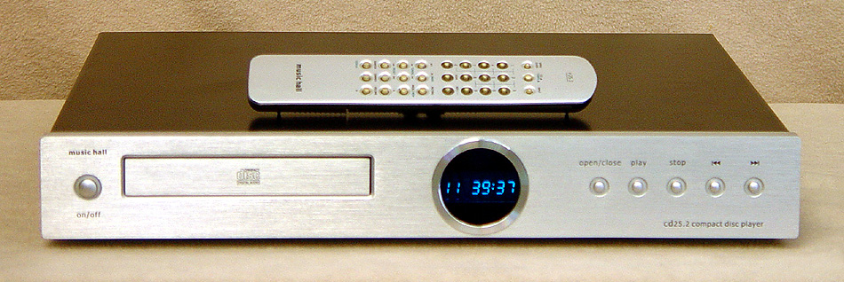 Music hall Cd25.2 disc players