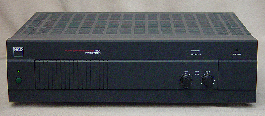 NAD 2600A power amplifiers