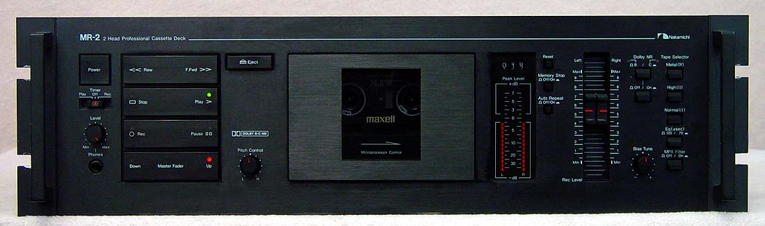 Nakamichi MR2 cassette decks