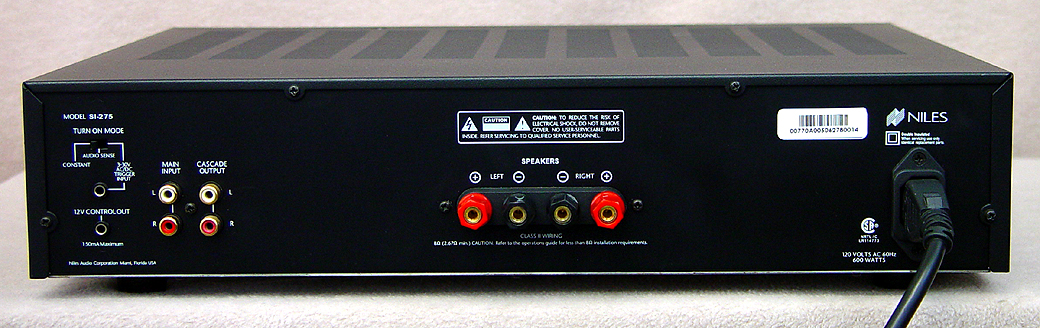 NILES SI-275 Power Amplifiers