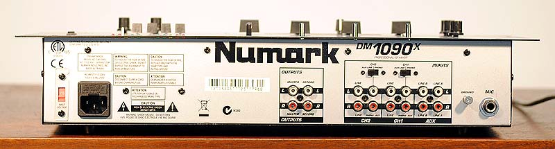 NUMARK DM1090X Audio Other