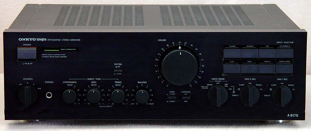 Onkyo A-8170 integrated amps