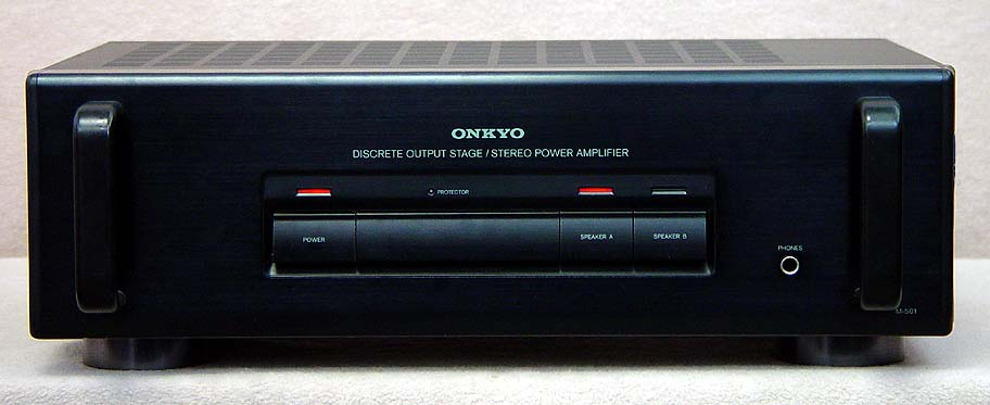 Onkyo M-501 power amplifiers