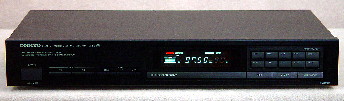 ONKYO T-4000 Tuners