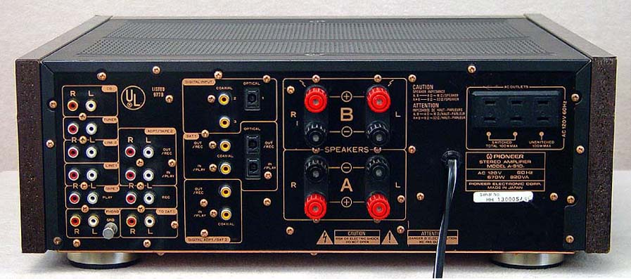 Pioneer A-91D integrated amps