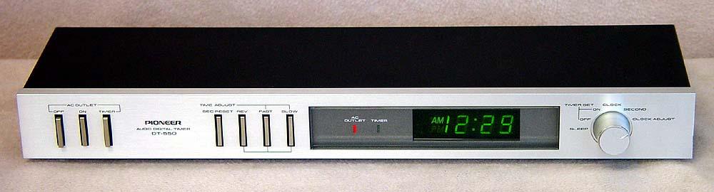 Pioneer Audio Digital Timer Dt-500 Vintage 1970s for sale