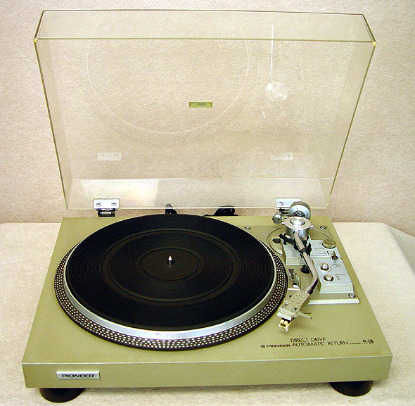 PIONEER PL-518 Turntables