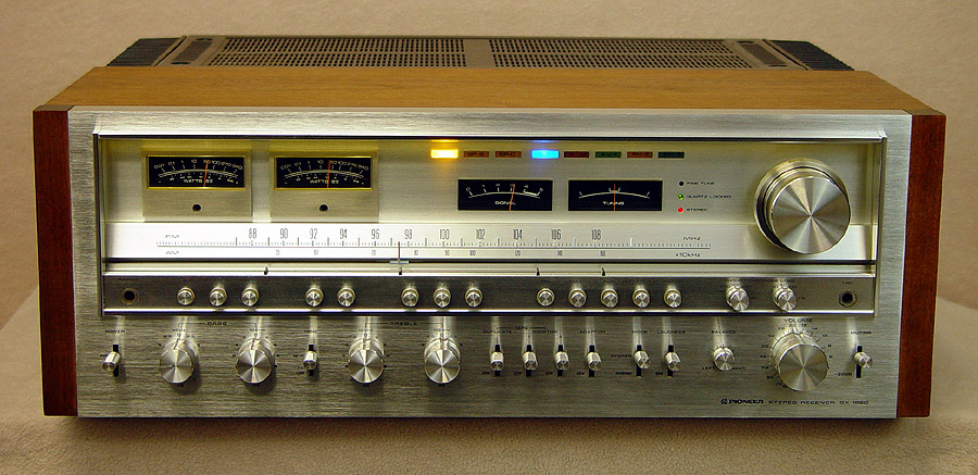 PIONEER SX1980 Receivers