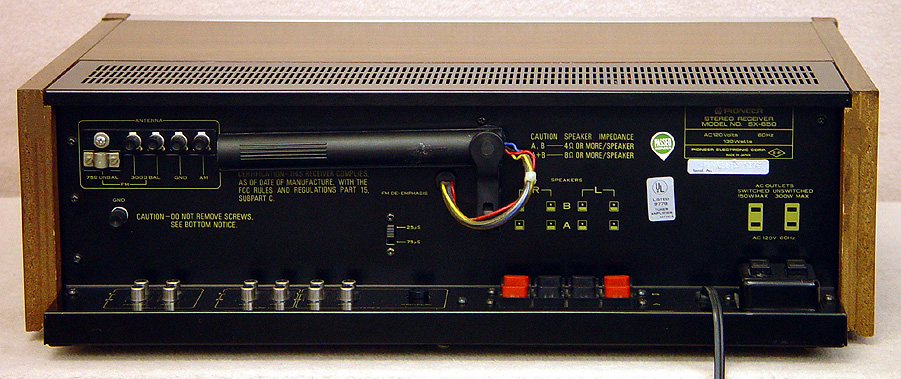 PIONEER SX-650 Receivers