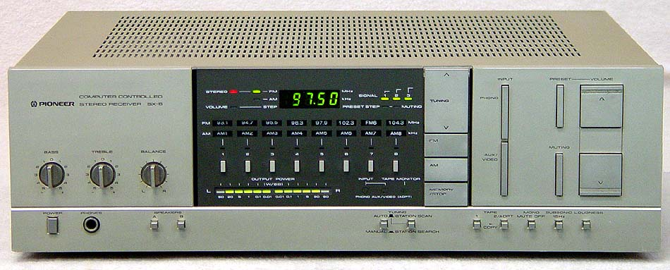 PIONEER SX-6 Receivers