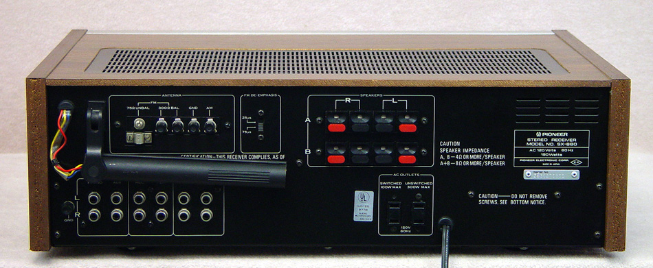PIONEER SX-880 Receivers
