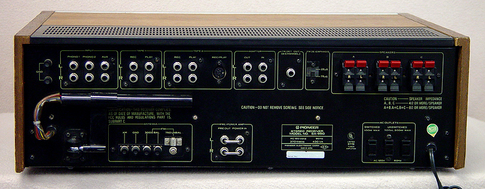 PIONEER SX-950 Receivers