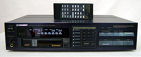 Pioneer PD-M60 disc players