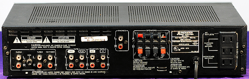 Pioneer SA-750 integrated amps