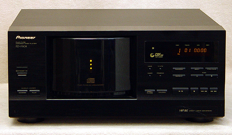 Pioneer PD-F908 disc players