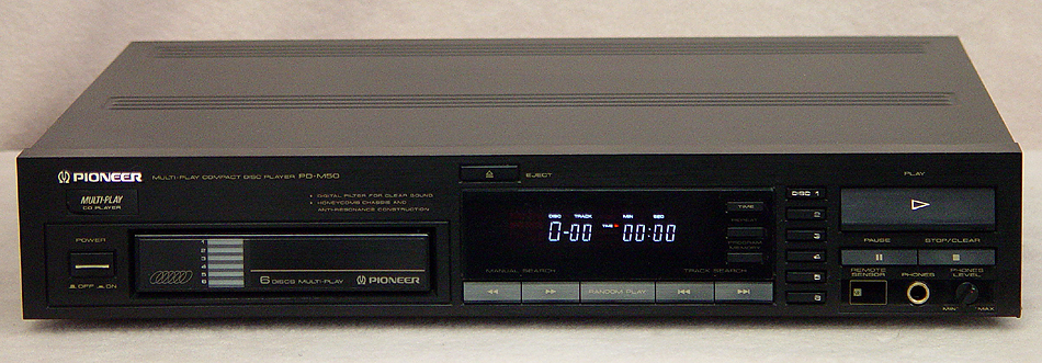 Pioneer PD-M50 disc players