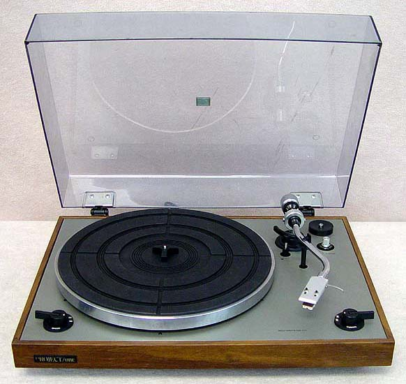 Project One DR-110 turntables