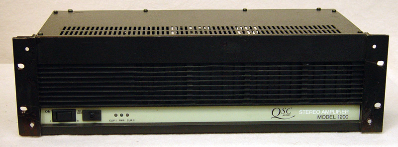QSC 1200 Power Amplifiers