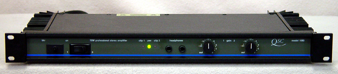 QSC 1080 Power Amplifiers