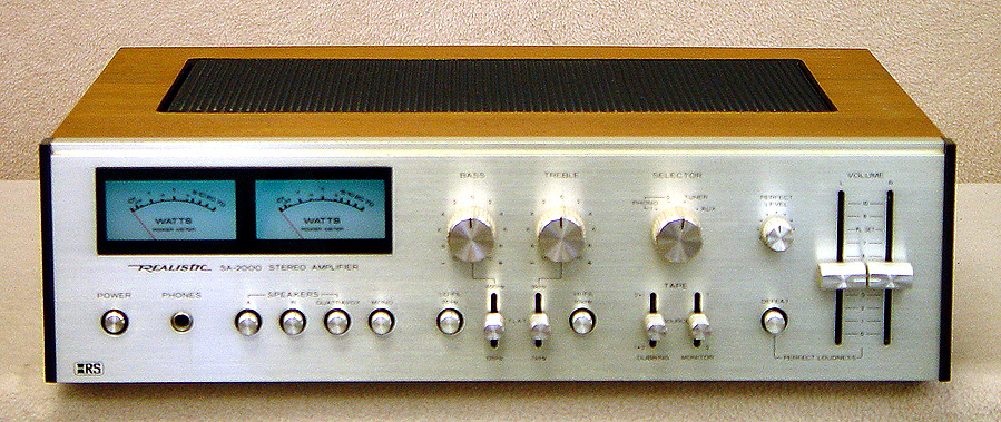 REALISTIC SA-2000 Integrated Amps