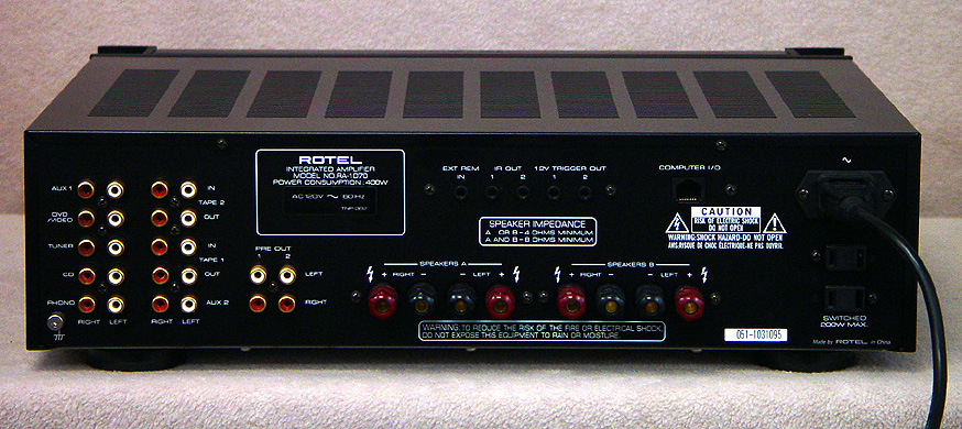 ROTEL RA-1070 Integrated Amps