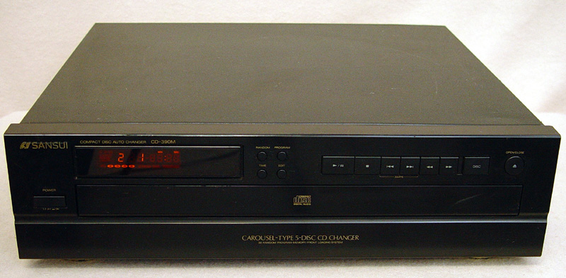Sansui CD-390M disc players