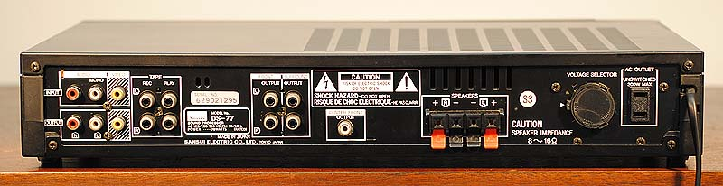 SANSUI DS-77 Surround Processors