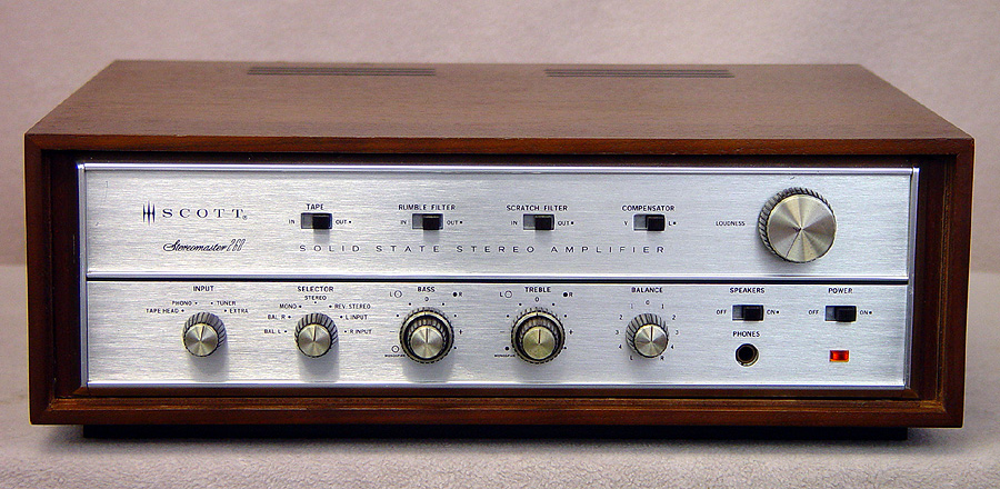 SCOTT 260 Integrated Amps