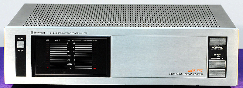 Sherwood S-6040cp power amplifiers