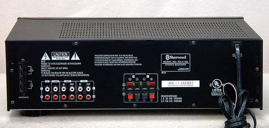 SHERWOOD RX4105 Receivers